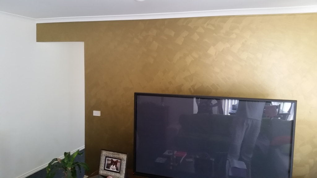 K Amp D Bak Painting And Decorating Painted Feature Walls