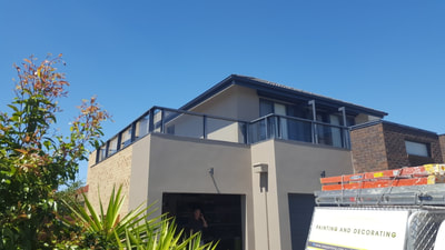 K & D Bak Painting and Decorating - Exterior Painting Render Facade