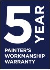 5 year workmanship warranty melbourne