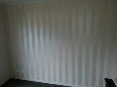 Wallpaper Feature Wall Laura Ashley painter decorator